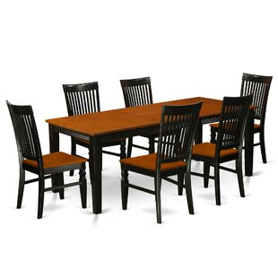 Pilger 7 Piece Extendable Dining Set by August Grove Herry Up