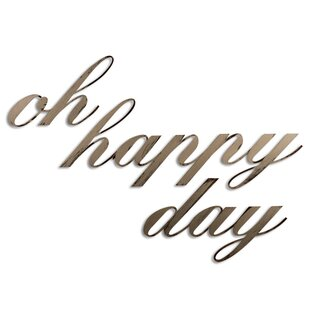 Oh Happy Day Wall D?cor by Letter2Word