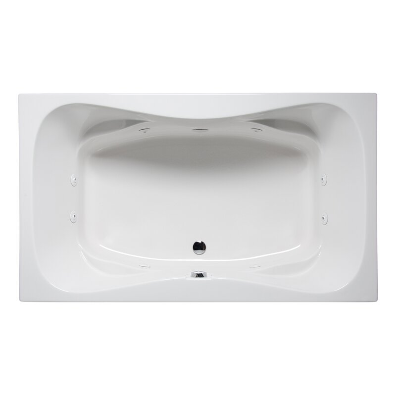 Americh Rampart Ii 60 X 42 Drop In Whirlpool Bathtub Wayfair