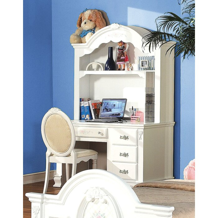 Egbert Student Desk with Hutch and Chair Set