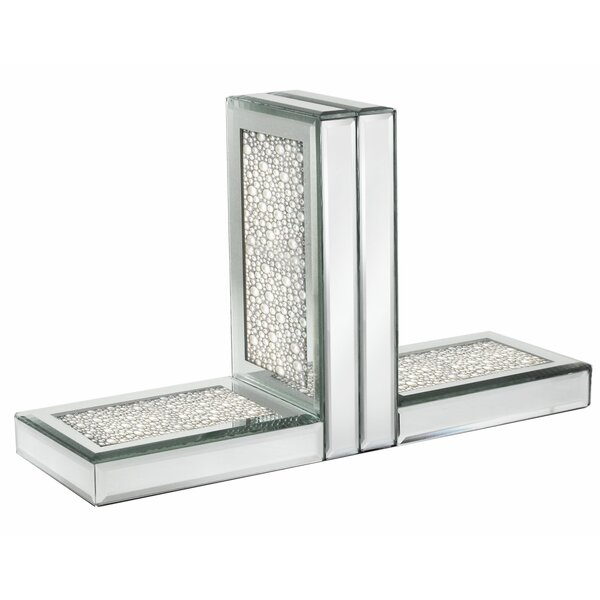 Mercer41 Pearl Mirror Bookends Wayfair