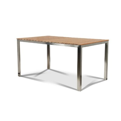 Bendel Solid Wood Dining Table by Rosecliff Heights Best