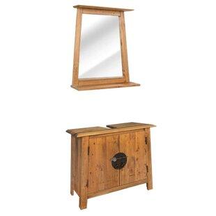 Sebastiao 2 Piece Bathroom Storage Furniture Set By World Menagerie