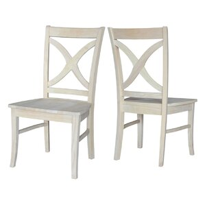 Claudine Solid Wood Dining Chair (Set of ..
