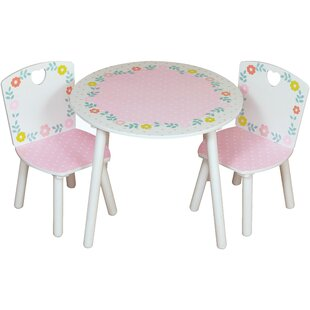 Crook Children's 3 Piece Round Table And Chair Set By Isabelle & Max