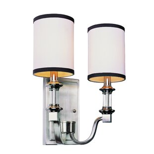 Find the perfect Stark 2-Light Wall Sconce By Breakwater Bay
