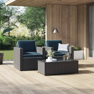 Belton 3 Piece Seating Group with Cushions by Mercury Row