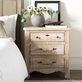 Lyra 3 Drawer Nightstand by Kelly Clarkson Home