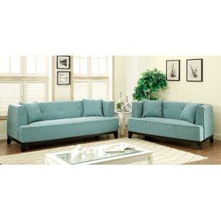Husman 2 Piece Living Room Set by Brayden Studio