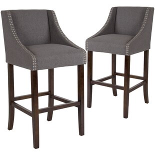 Affordable Price Beau 30 Bar Stool (Set of 2) by Alcott Hill Reviews (2019) & Buyer's Guide