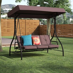 Lasalle Canopy Patio Porch Swing by Winston Porter Discount