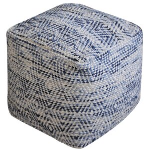 Randal Pouf Ottoman by Beachcrest Home