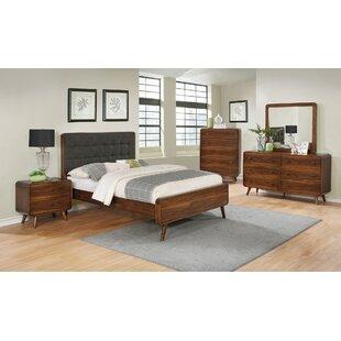 Buy luxury Polkville Upholstered Platform Bed by Brayden Studio Reviews (2019) & Buyer's Guide