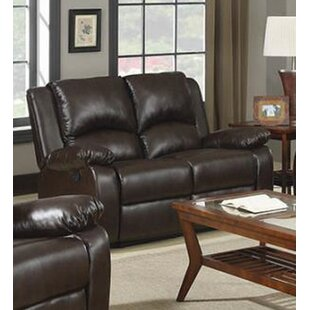 Nyquist Motion Reclining Loveseat by Red ..