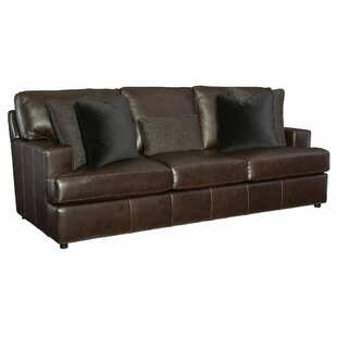 Winslow Leather Sofa by Bernhardt