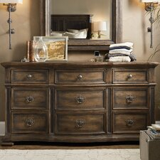 Hill Country Williamson 9 Drawer Dresser by Hooker Furniture