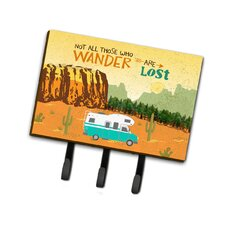 RV Camper Camping Wander Leash or Key Holder by Caroline's Treasures