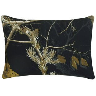 Realtree Camo Oblong Cotton Lumbar Pillow
