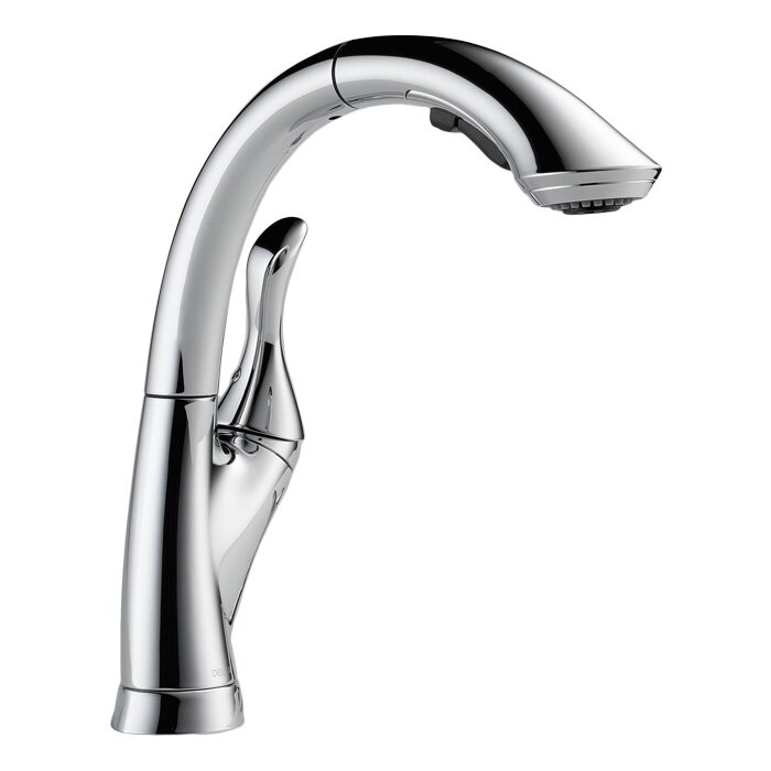 Linden Pull Down Touch Single Handle Kitchen Faucet