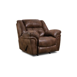 Simmons Upholstery Hanna Rocker Recliner by 17 Stories