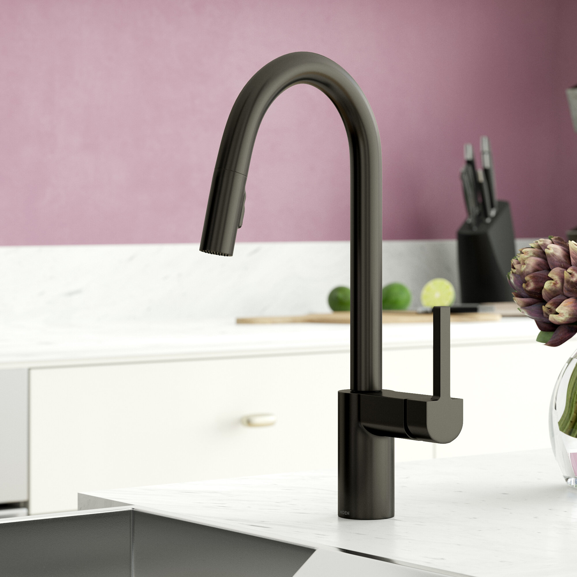 Align Pull Down Single Handle Kitchen Faucet