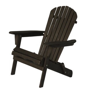 Wood Folding Adirondack Chair