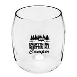 Becker 19 oz. Plastic Stemless Wine Glass by Millwood Pines