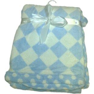 Order Checkboard Print Super Plush Baby Blanket ByLux Club