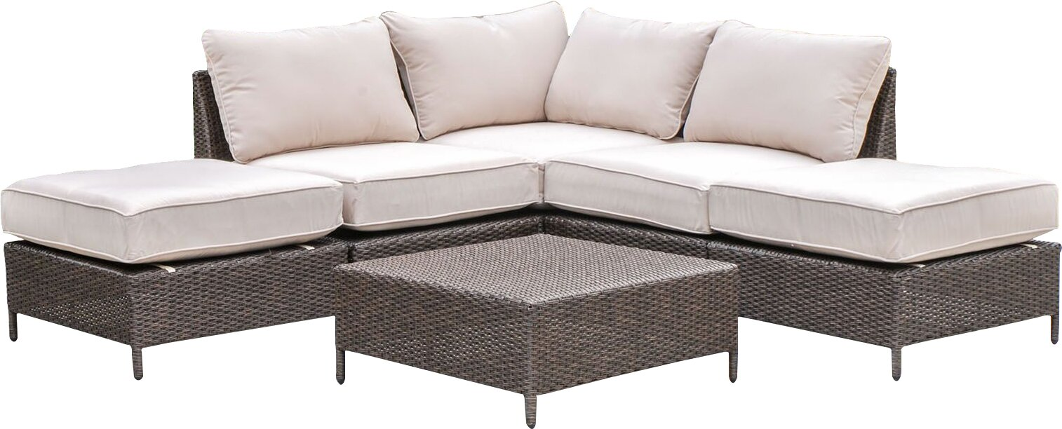 Sharon 6 Piece Sofa Set with Cushions