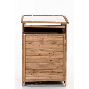 MX240 Wooden Single Bin Store By 17 Stories