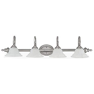 Price Check Knapp 4-Light Vanity Light By Darby Home Co