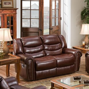 Herring Double Reclining Loveseat by Alco..
