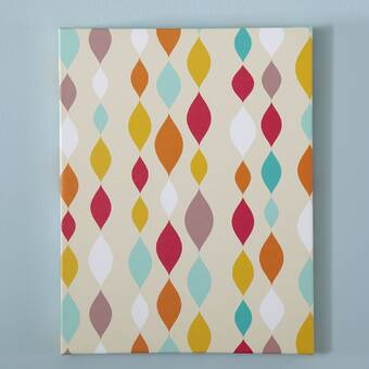 Isabelle Max Origami Pattern Canvas I Wayfair