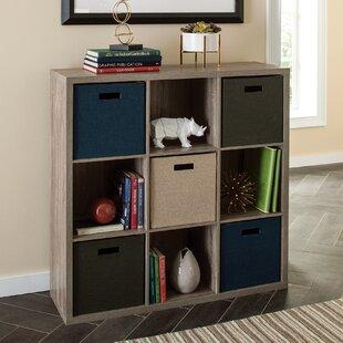 Decorative Storage Cube Unit Bookcase by ClosetMaid