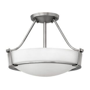 Hinkley Lighting Hathaway 3-Light LED Semi Flush Mount
