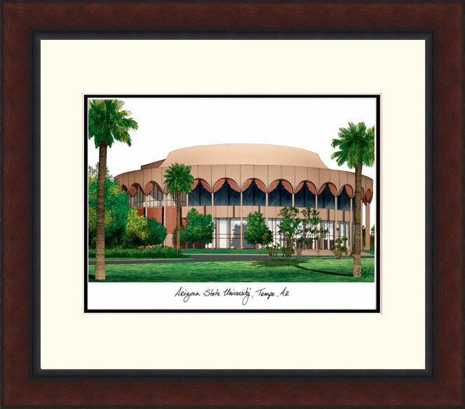 Campus Images Ncaa Arizona State Sun Devils Legacy Alumnus Lithograph Picture Frame Wayfair