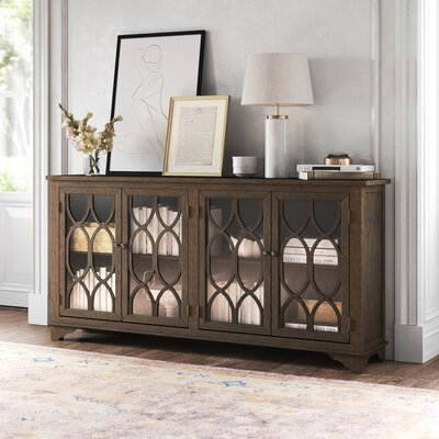 """Rachael TV Stand for TVs up to 78"""" August Grove"""
