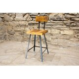 Brewster Bar Stool -- Chair Height (Set of 4) by The Strong Oaks Woodshop