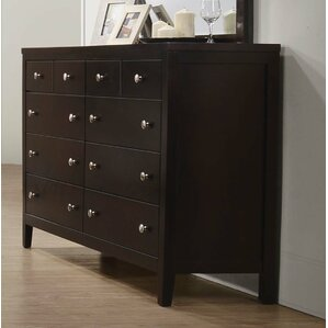 Conrad 8 Drawer Double Dresser by Red Barrel Studio