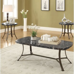 Ebern Designs Guerra Coffee and End Table Set (Set of 3)