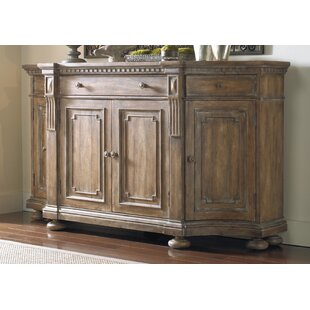 Sorella Shaped Sideboard Hooker Furniture