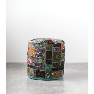 Jattin Sari Pouf by World Menagerie