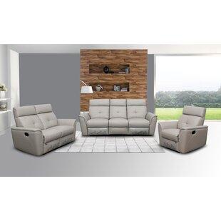 Recliner 3 Piece Reclining Living Room Set By Latitude Run