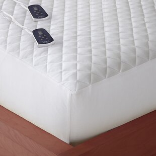 Electric Down Alternative Heated Mattress Pad