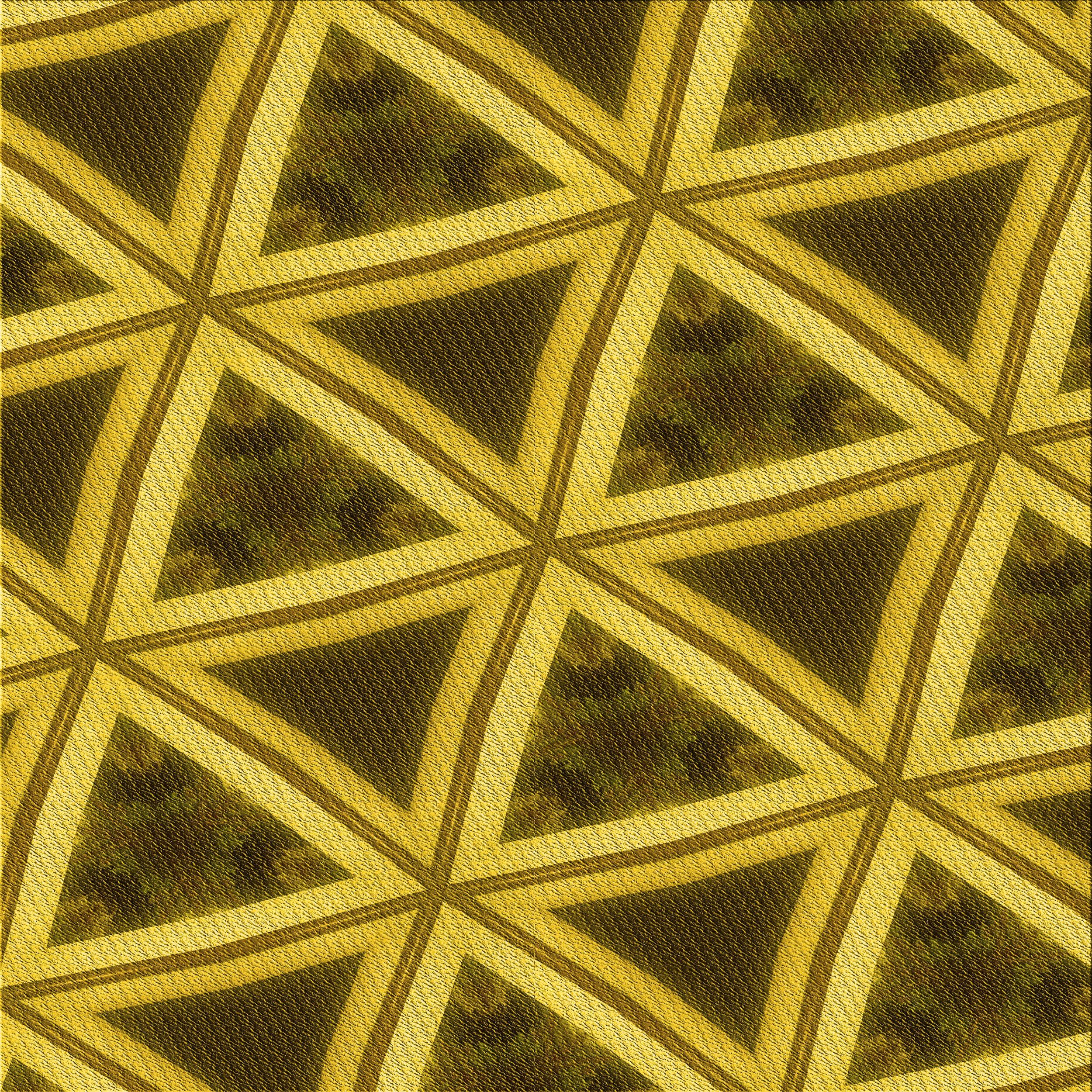 Ebern Designs Ardavazt Geometric Yellow Gray Rug Wayfair