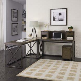 Home Styles Xcel 4 Piece L-Shape Desk Office Suite