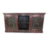 Epilobe Solid Wood TV Stand for TVs up to 78 by World Menagerie