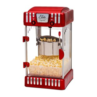 2.5 Oz. Classic Tabletop Kettle Popcorn Maker by Elite Maxi-Matic