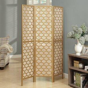 Monarch Specialties Inc. Lantern Design 3 Panel Room Divider
