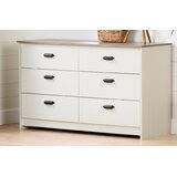 Plenny 6 Drawer Double Dresser by South Shore